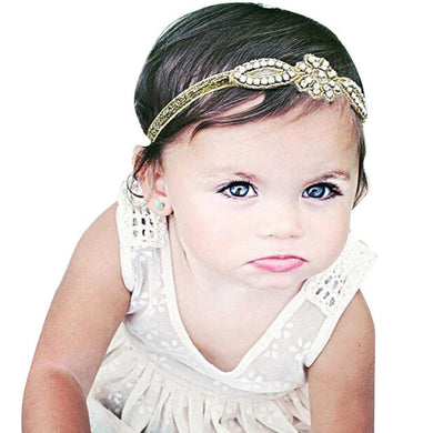 Baby Girl Head Accessories Hair band  Crystal Rhinestone