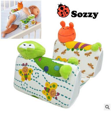 0 M+ Baby Sleep Positioner Pillow Anti-Roll Infant Sleep