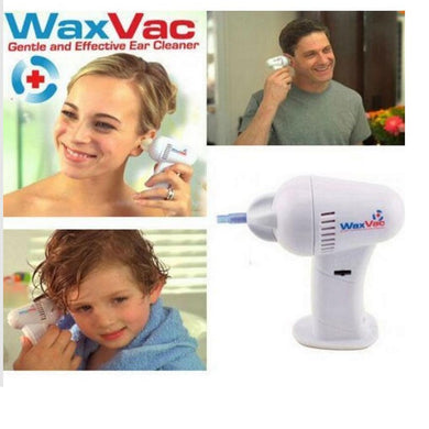 Electric waxvac ear cleaner baby/ child ear