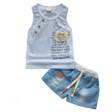 Summer  Set Tank Top + Jeans Shorts