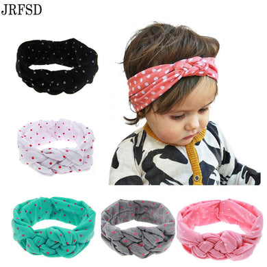 New Cute Headwear Printing Knot Headband