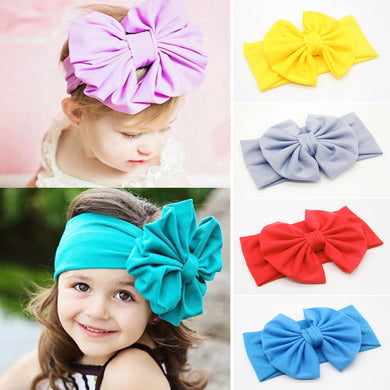 Hot Sale Cute Girl Bowknot Headdress Children Hair Bands Hair Accessories Kids Headbands
