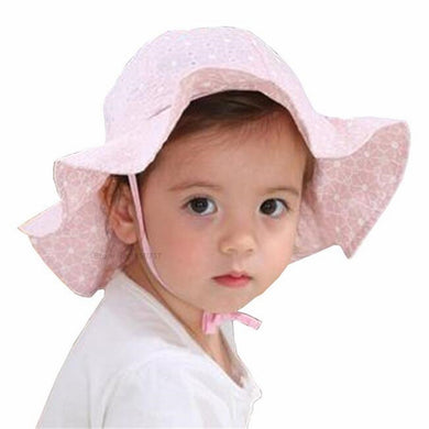 Girls Sun Hat Summer Floppy Beach Caps