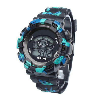 Kids Watches LED Watch Date Sports Clock