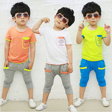 Boys Clothing fashion sport suits
