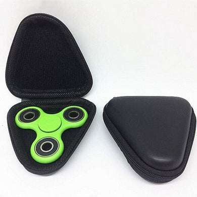 New Tri Box Storage Case For Fidget Hand Spinner