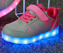Magic Lamp Light Children's Shoes