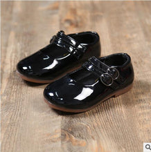 Girls Shoes Leather Dress Formal Flats Shoes