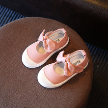Girls Canvas Shoes w/Bowknot Comfortable  Casual Shoes