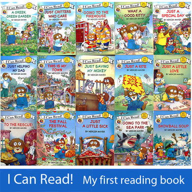 15 books Set Little Critter English Picture Books/ I can read My first reading book