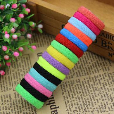 50 pcs/Hair Holders Elastics Tie