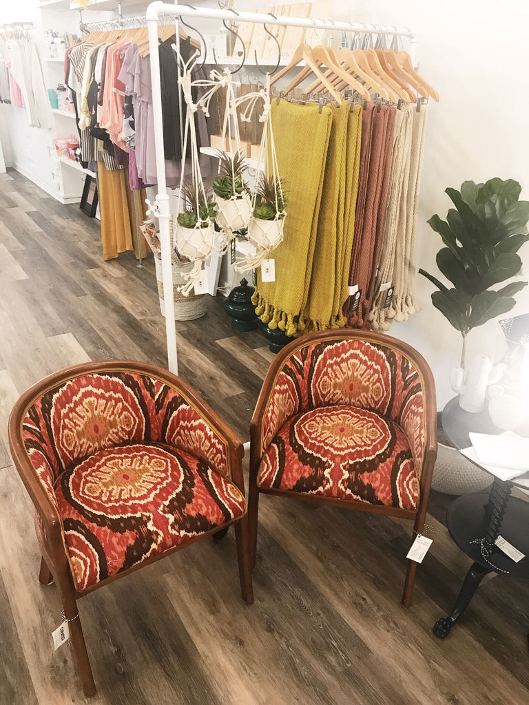 Bohemian Upholstered Chairs