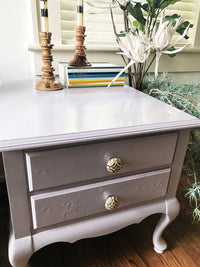 LAVENDER SIDE TABLE