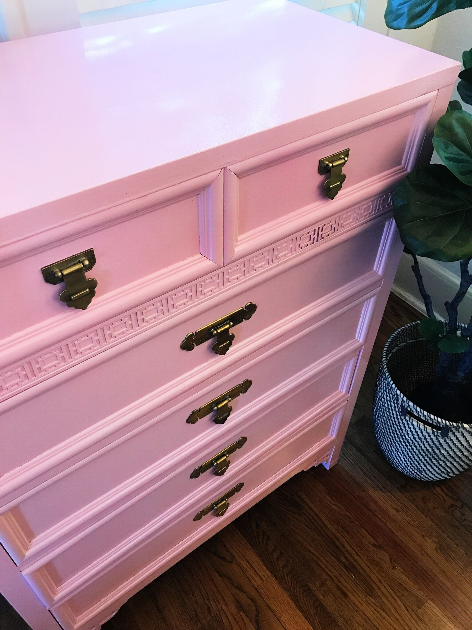 Blush 5-Drawer Chest