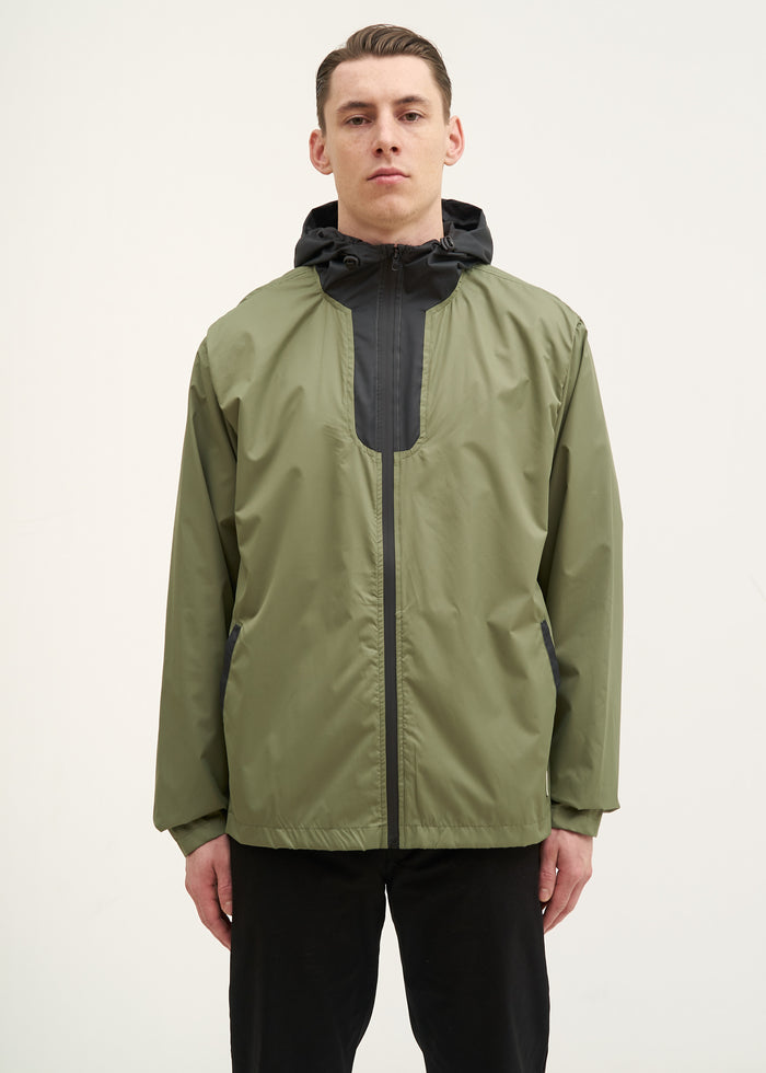 Sherman Zip - OLIVE/BLACK