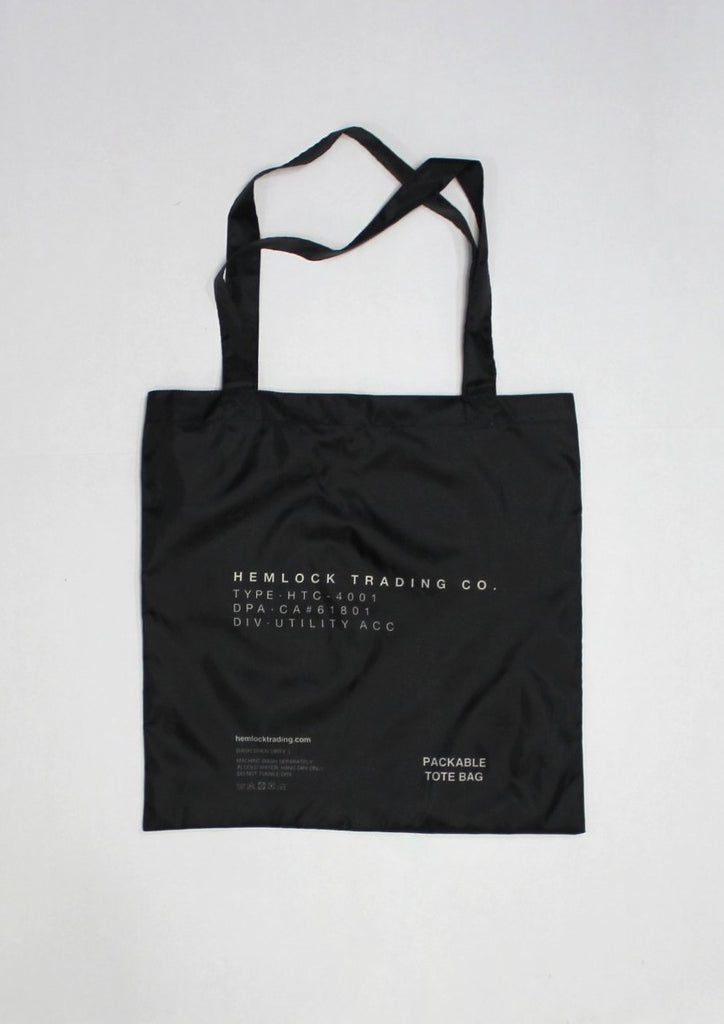 Tote Bag - Packable
