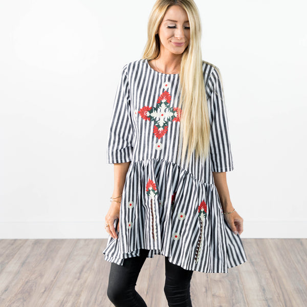 Sophie Embroidered Tunic