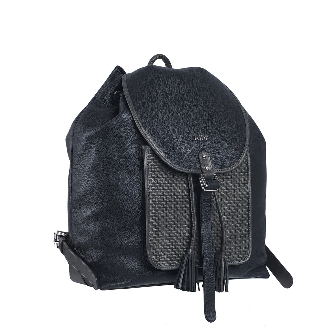 BP 0004 - TOHL NAYARA WOMEN'S FLAP FRONT BACKPACK - CHARCOAL BLACK
