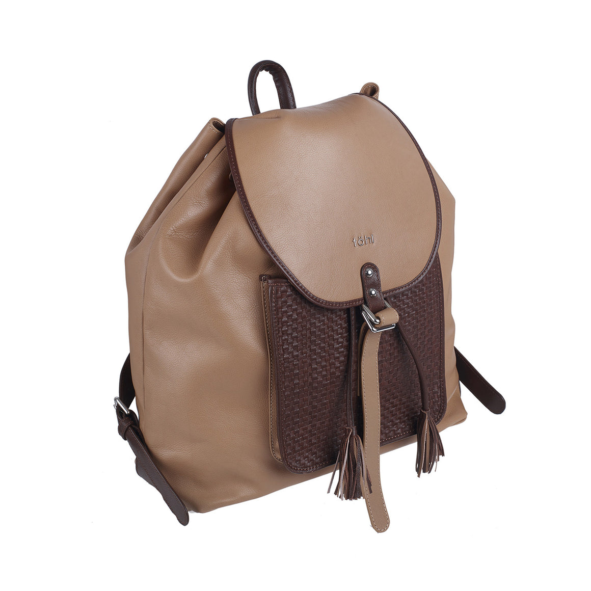 BP 0004 - TOHL NAYARA WOMEN'S FLAP FRONT BACKPACK - NUDE