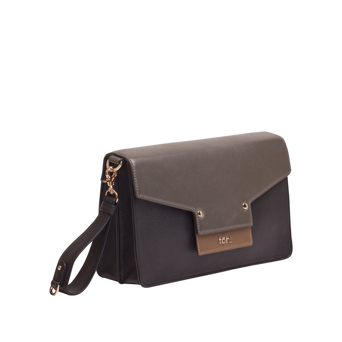 CH 0011 - TOHL CALETA WOMEN'S CLUTCH - CHARCOAL BLACK