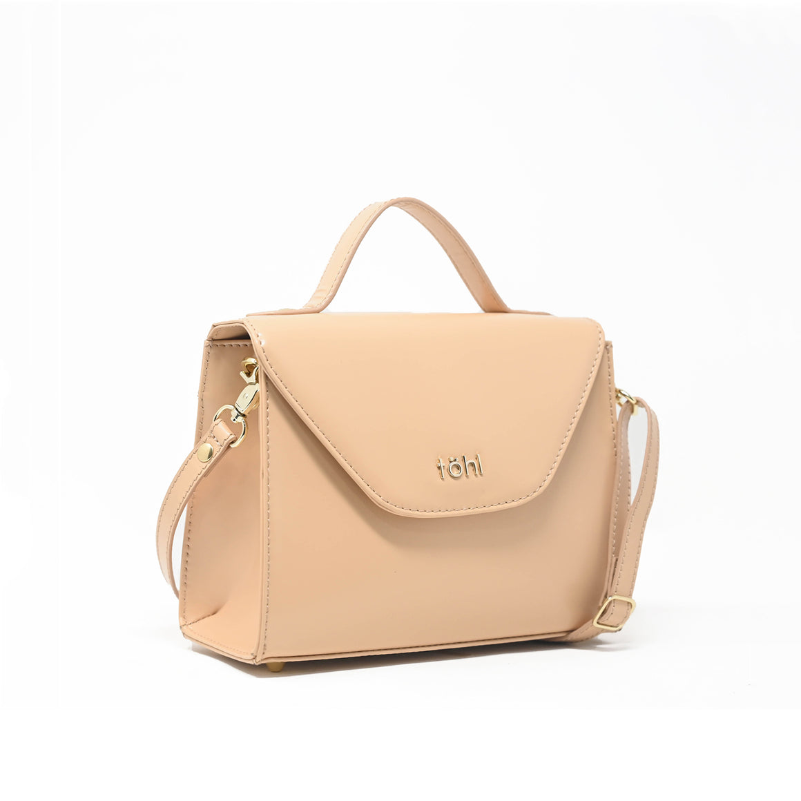 SG0032 - TOHL ABBEY WOMEN'S CROSS-BODY BAG - NUDE