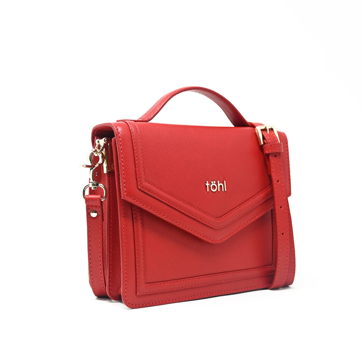 SG0034 - TOHL AVON WOMEN'S CROSS-BODY BAG - SPICE RED