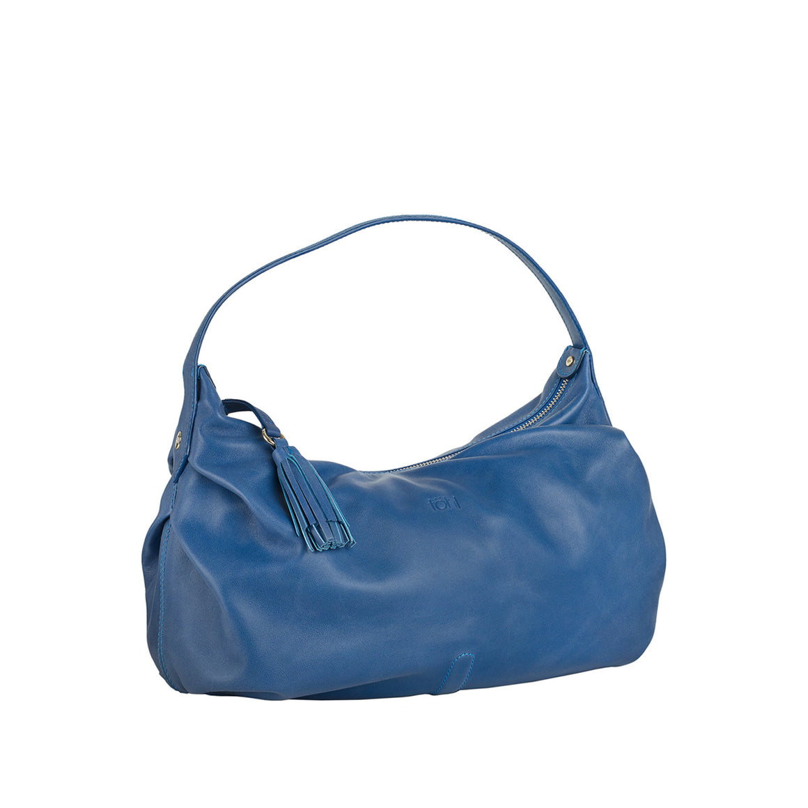 HH 0001 - TOHL TINSLEY WOMEN'S SHOULDER  BAGUETTE - AZURE