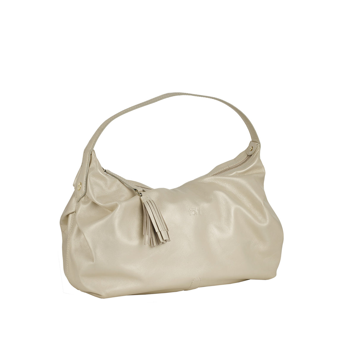 HH 0001 - TOHL TINSLEY WOMEN'S SHOULDER  BAGUETTE - CHAMPAGNE PEARL