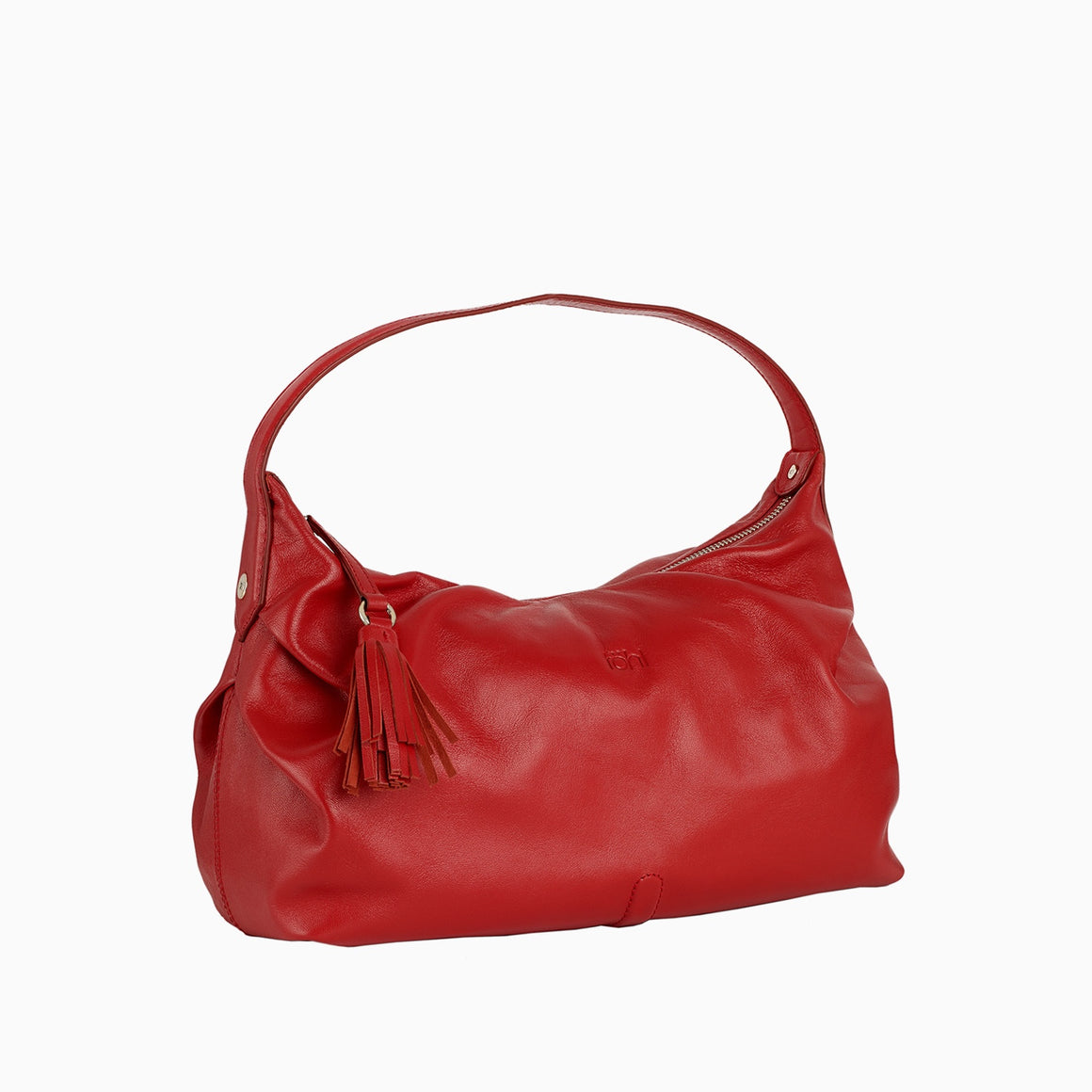HH 0001 - TOHL TINSLEY WOMEN'S SHOULDER  BAGUETTE - SPICE RED