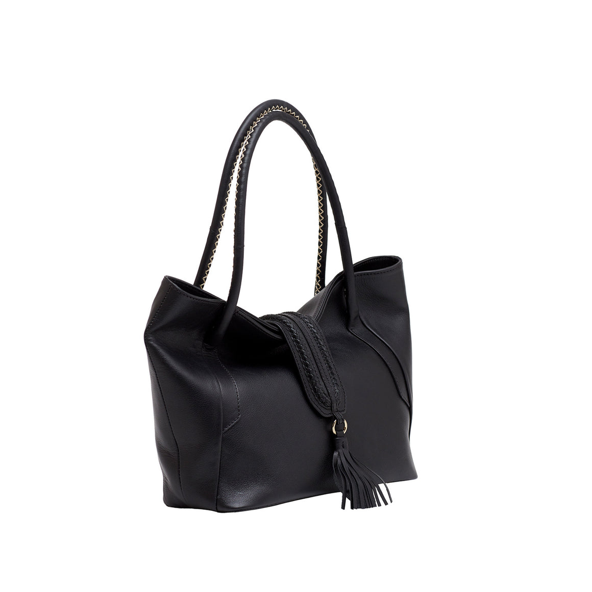 HH 0003 - TOHL ARETHA WOMEN'S SHOULDER BAG - CHARCOAL BLACK