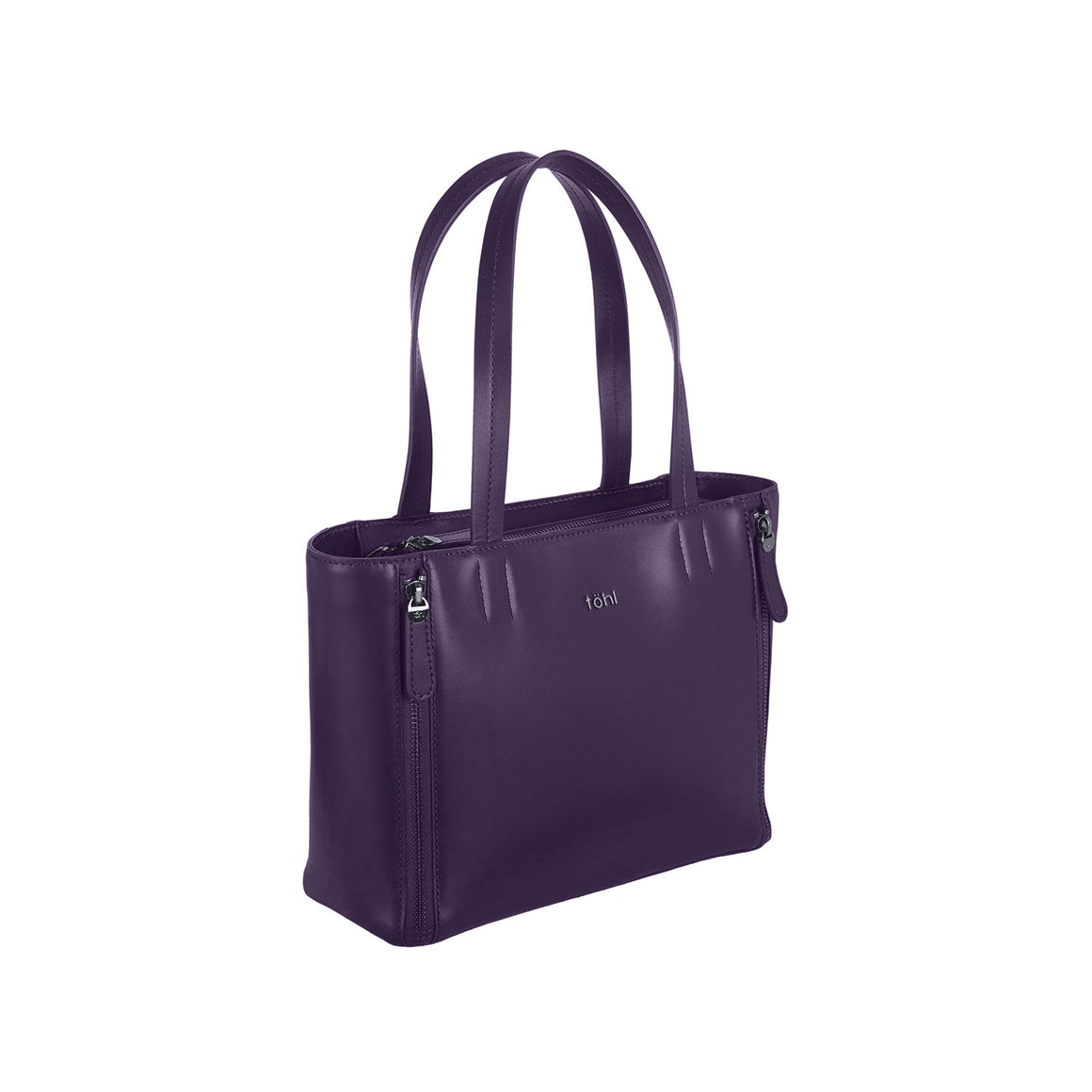 HH 0004 - TOHL VARICK WOMEN'S TOTE BAG - AUBERGINE