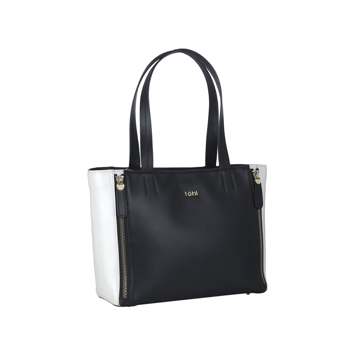 HH 0004 - TOHL VARICK WOMEN'S TOTE BAG - CHARCOAL BLACK