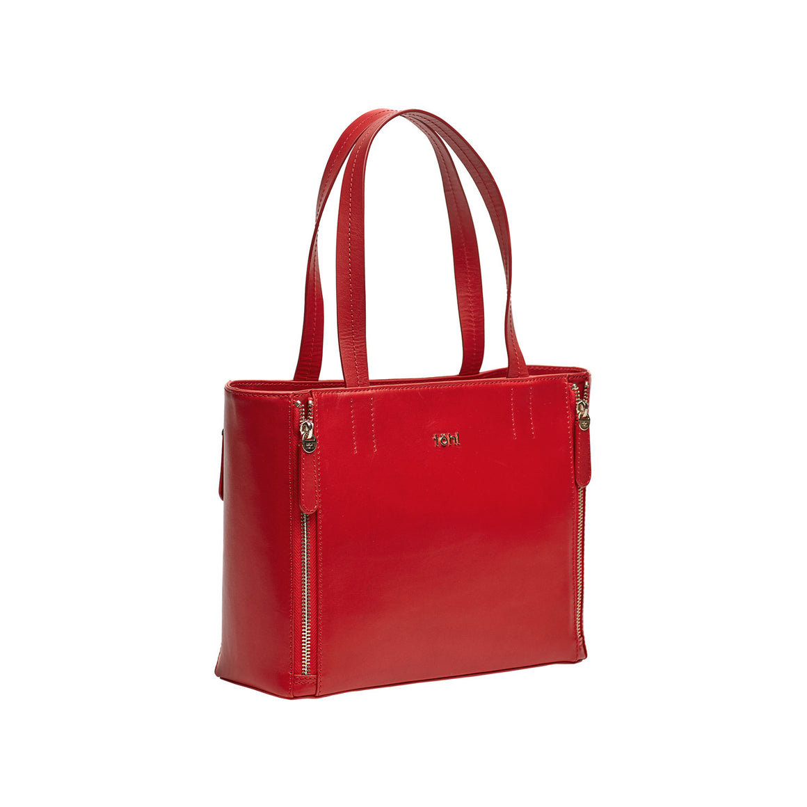 HH 0004 - TOHL VARICK WOMEN'S TOTE BAG - SPICE RED