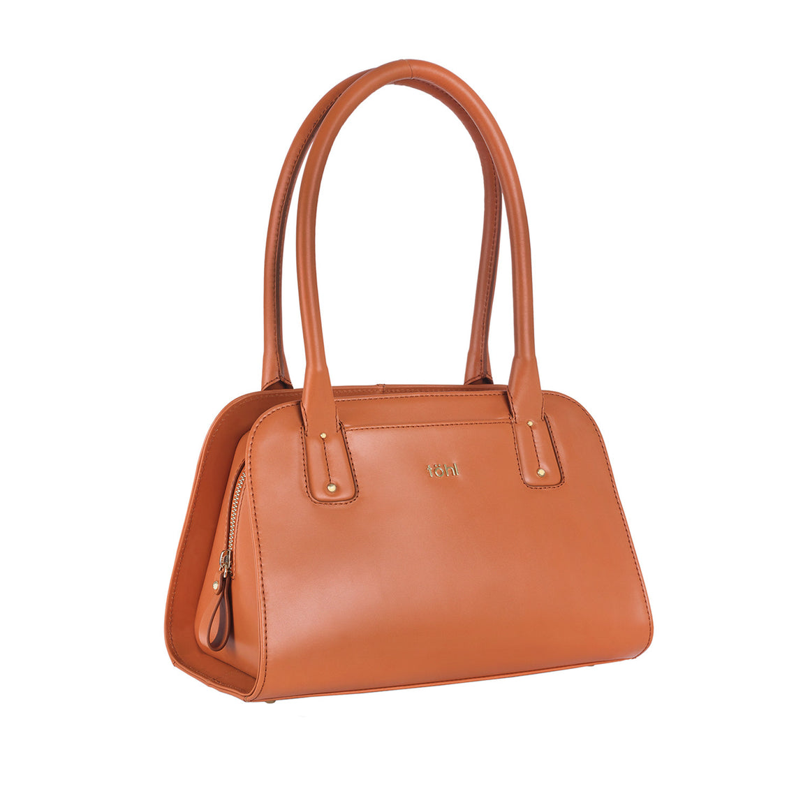 HH 0006 - TOHL PALOMA WOMEN'S SHOULDER BAG - COGNAC