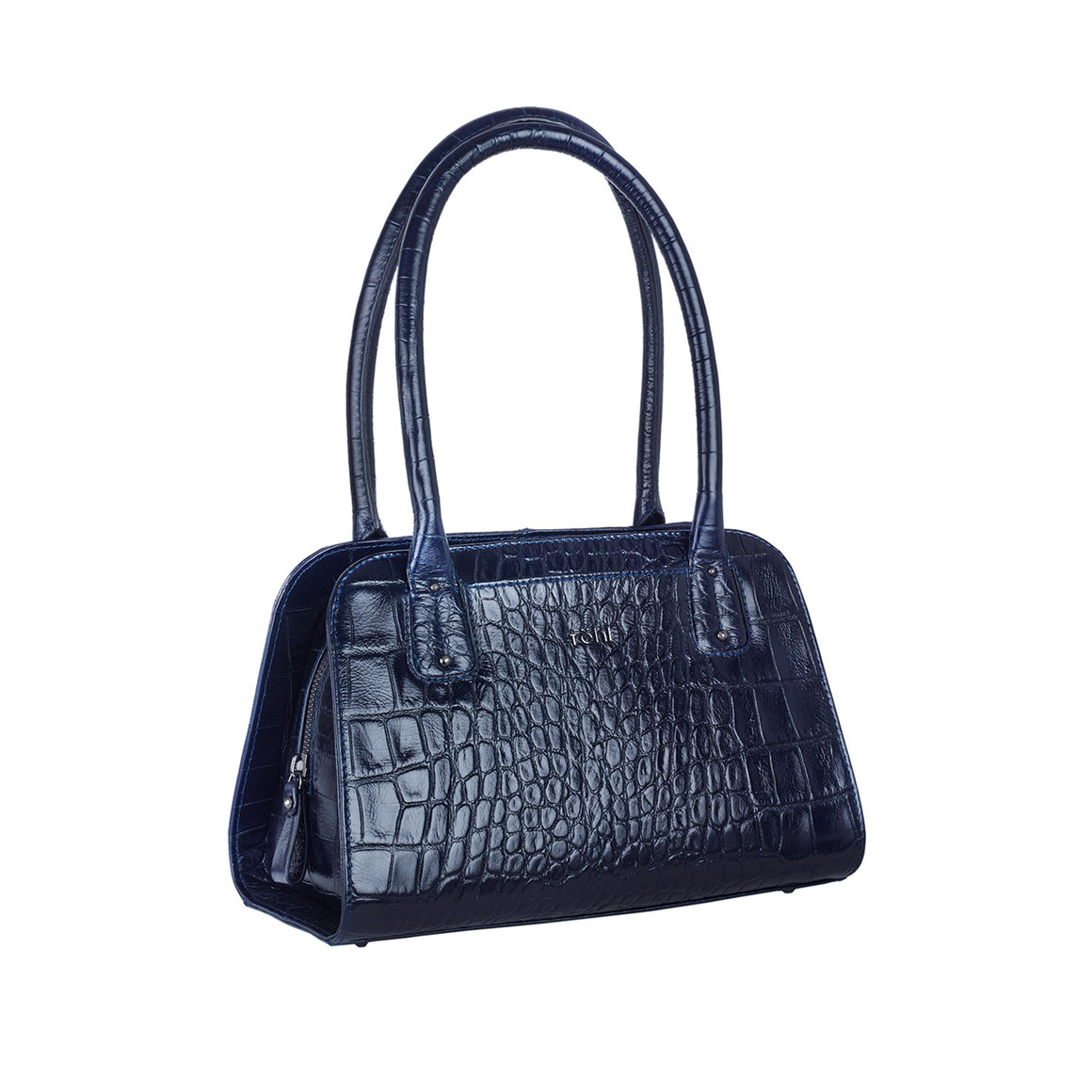 HH 0006 - TOHL PALOMA WOMEN'S SHOULDER BAG - CROCODILLO LANCIVERT