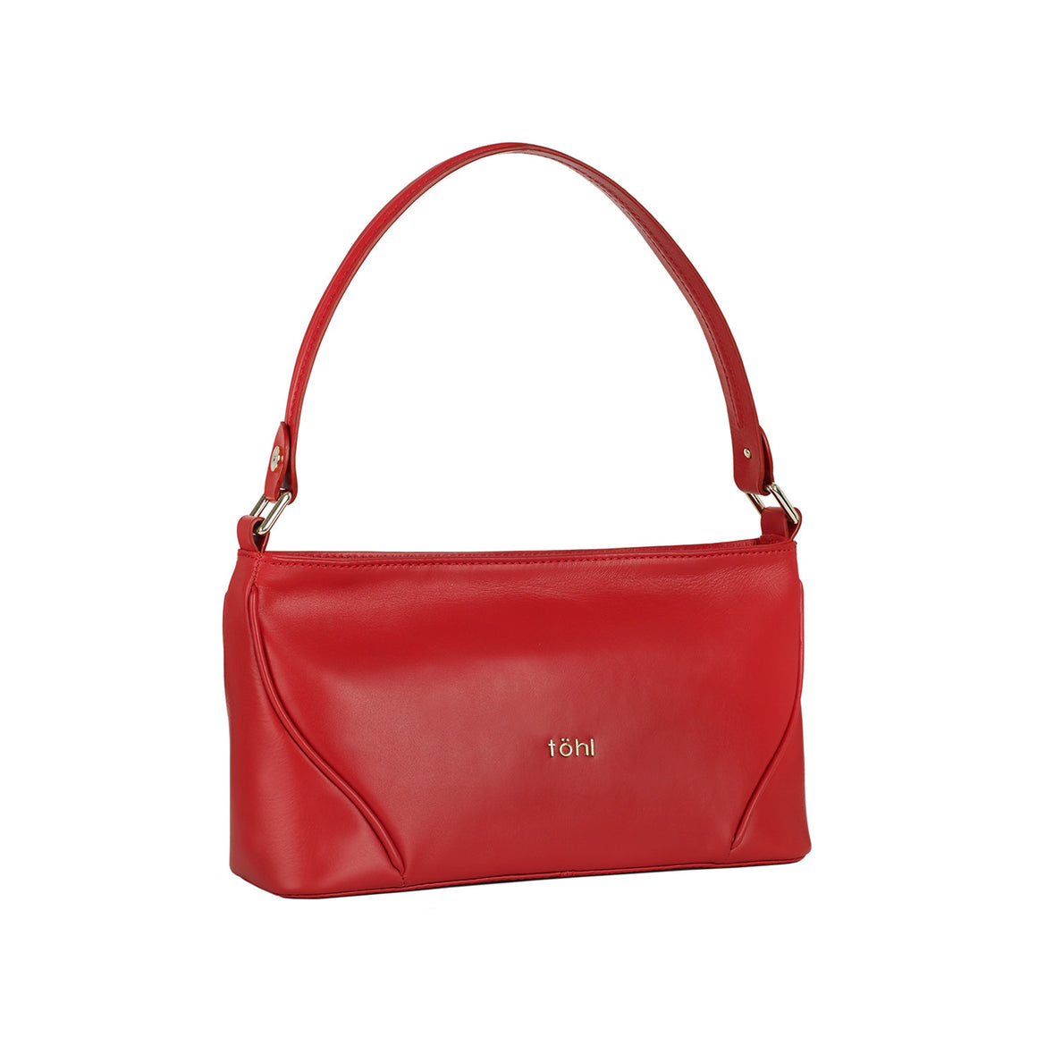 HH 0008 - TOHL NICOLE WOMEN'S SHOULDER BAGUETTE - SPICE RED