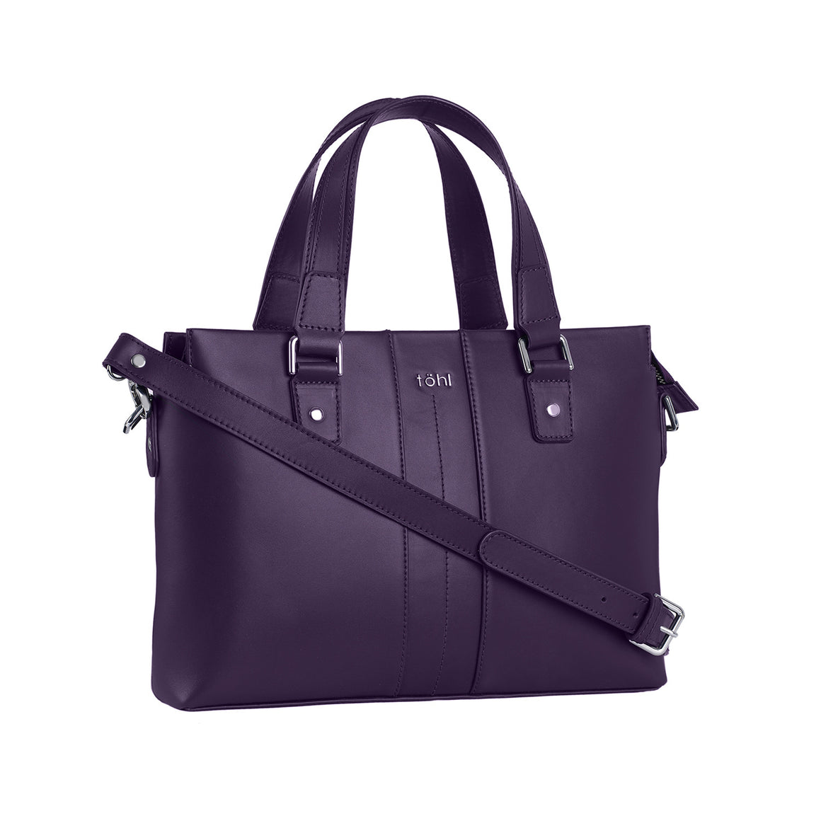 HH 0011 - TOHL WORTH WOMEN'S VALISE - AUBERGINE