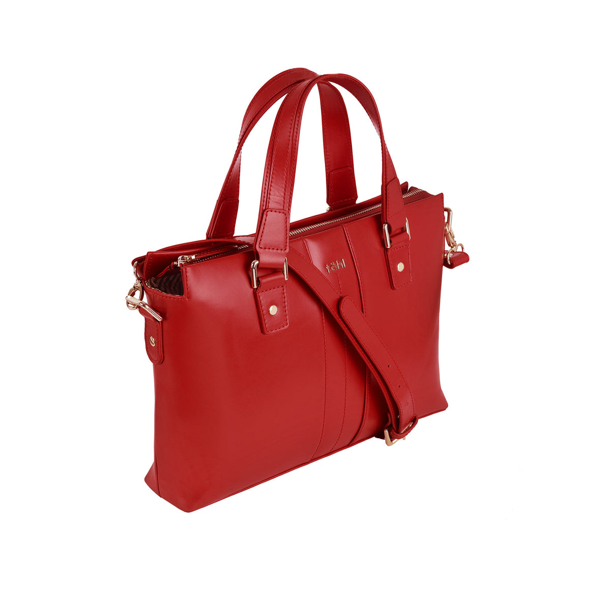 HH 0011 - TOHL WORTH WOMEN'S VALISE - SPICE RED