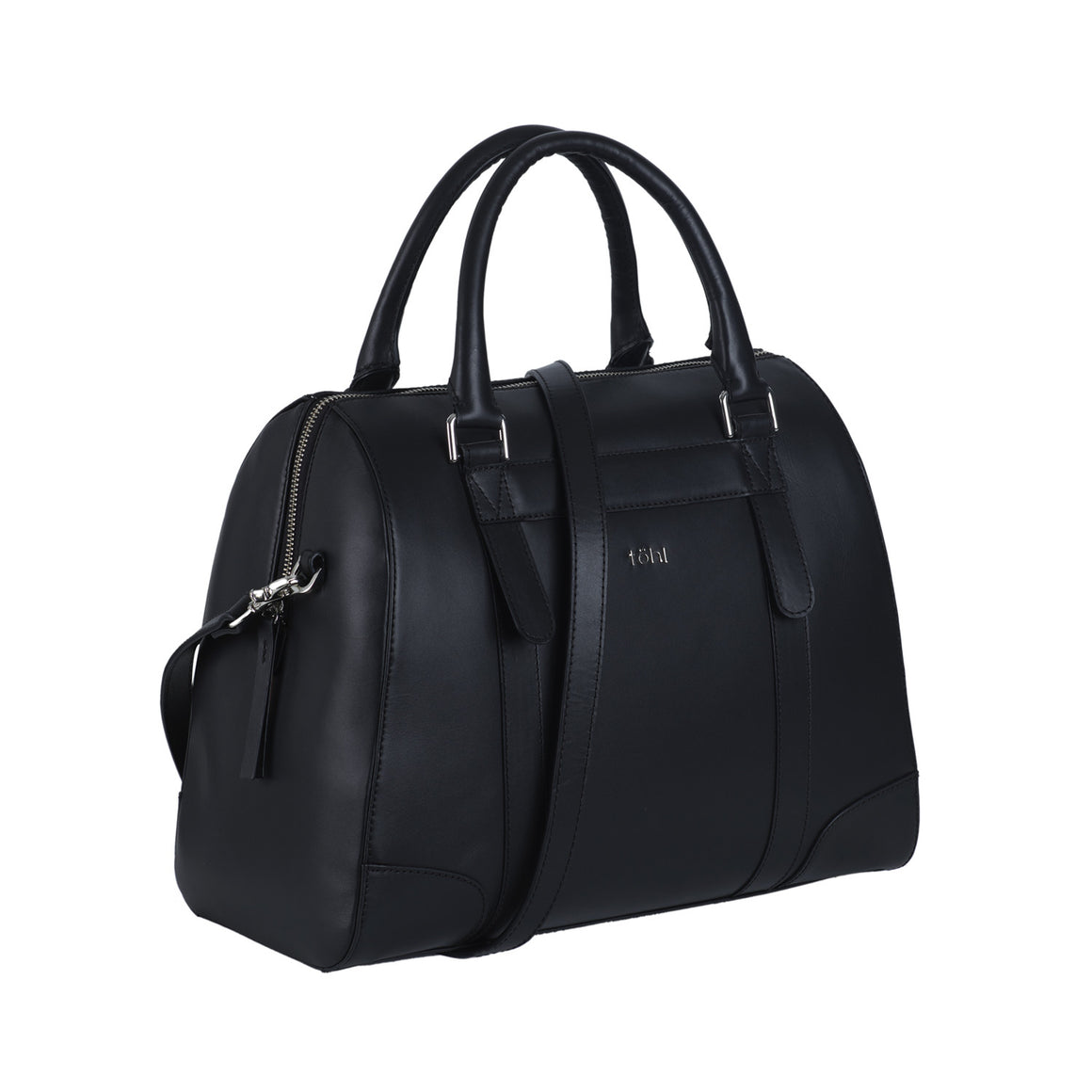 HH 0013 - TOHL NASSAU WOMEN'S TOTE BAG - CHARCOAL BLACK