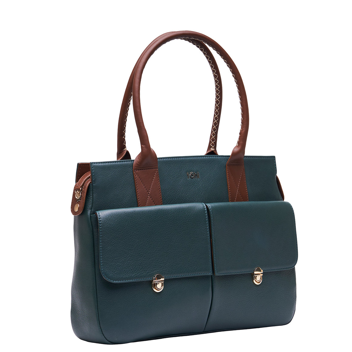 HH 0015 - TOHL GALWAY WOMEN'S VALISES & SATCHELS - FOREST GREEN