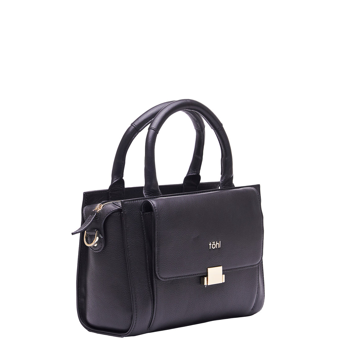 HH 0016 - TOHL CHISWELL WOMEN'S HAND BAG - CHARCOAL BLACK