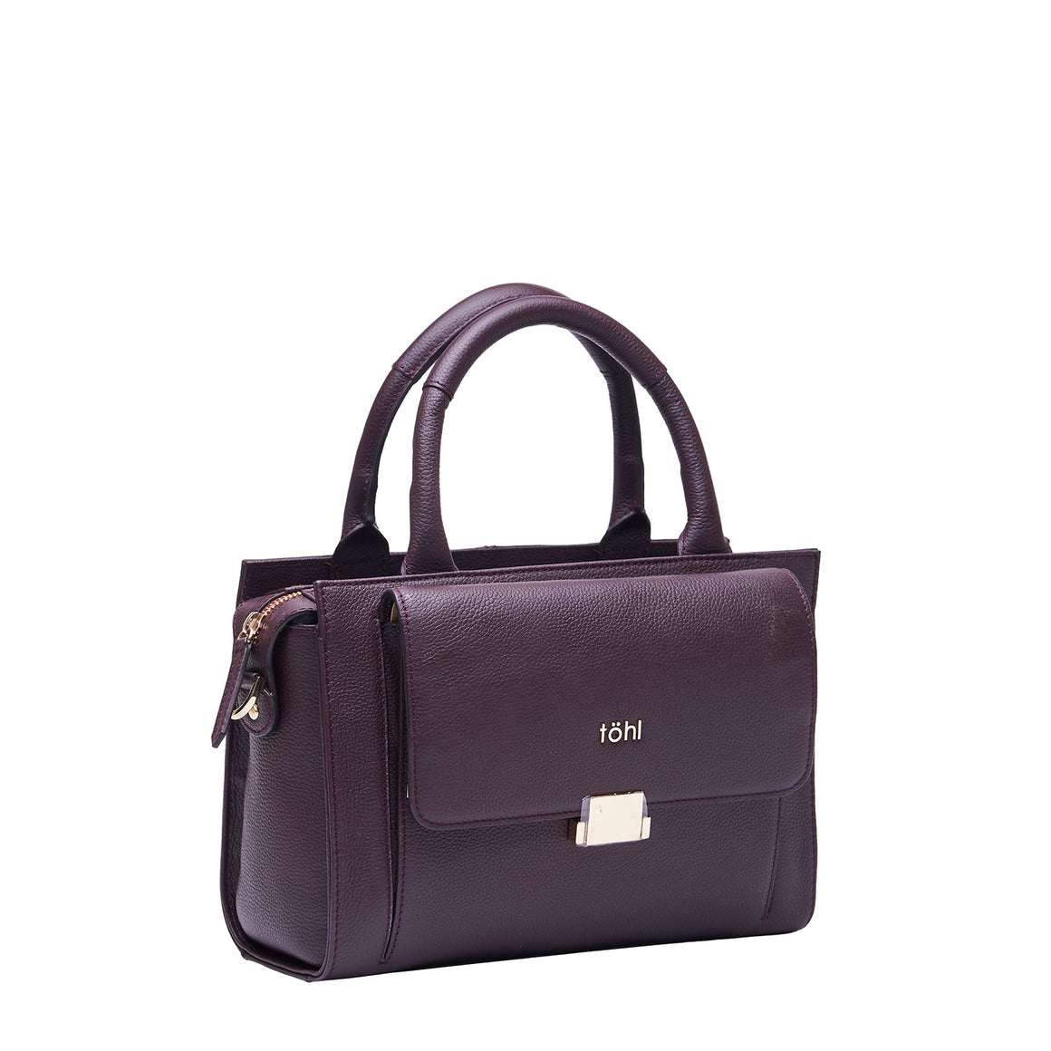 HH 0016 - TOHL CHISWELL WOMEN'S HAND BAG - PLUM