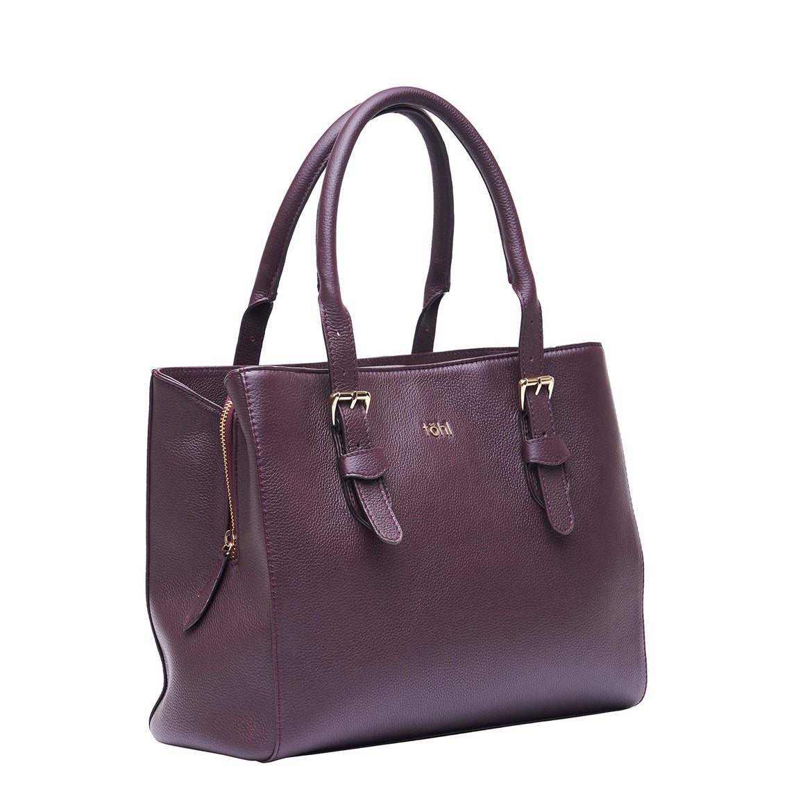 HH 0017 - TOHL COLEMAN WOMEN'S HAND BAG - PLUM