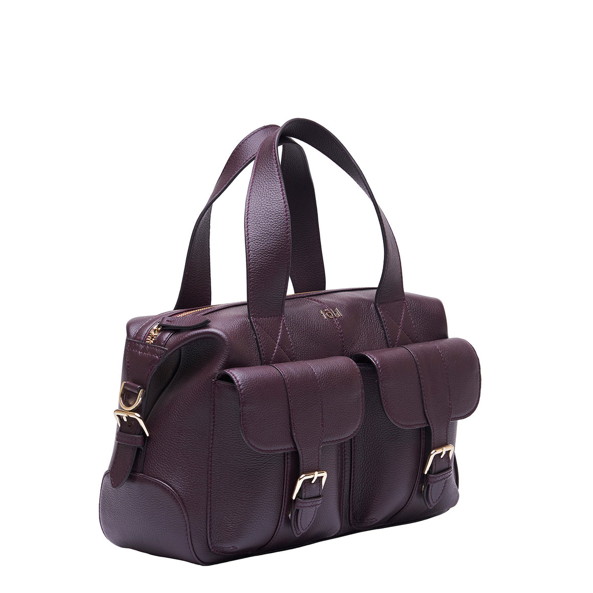 HH 0018 - TOHL PEPYS WOMEN'S HAND BAG - PLUM