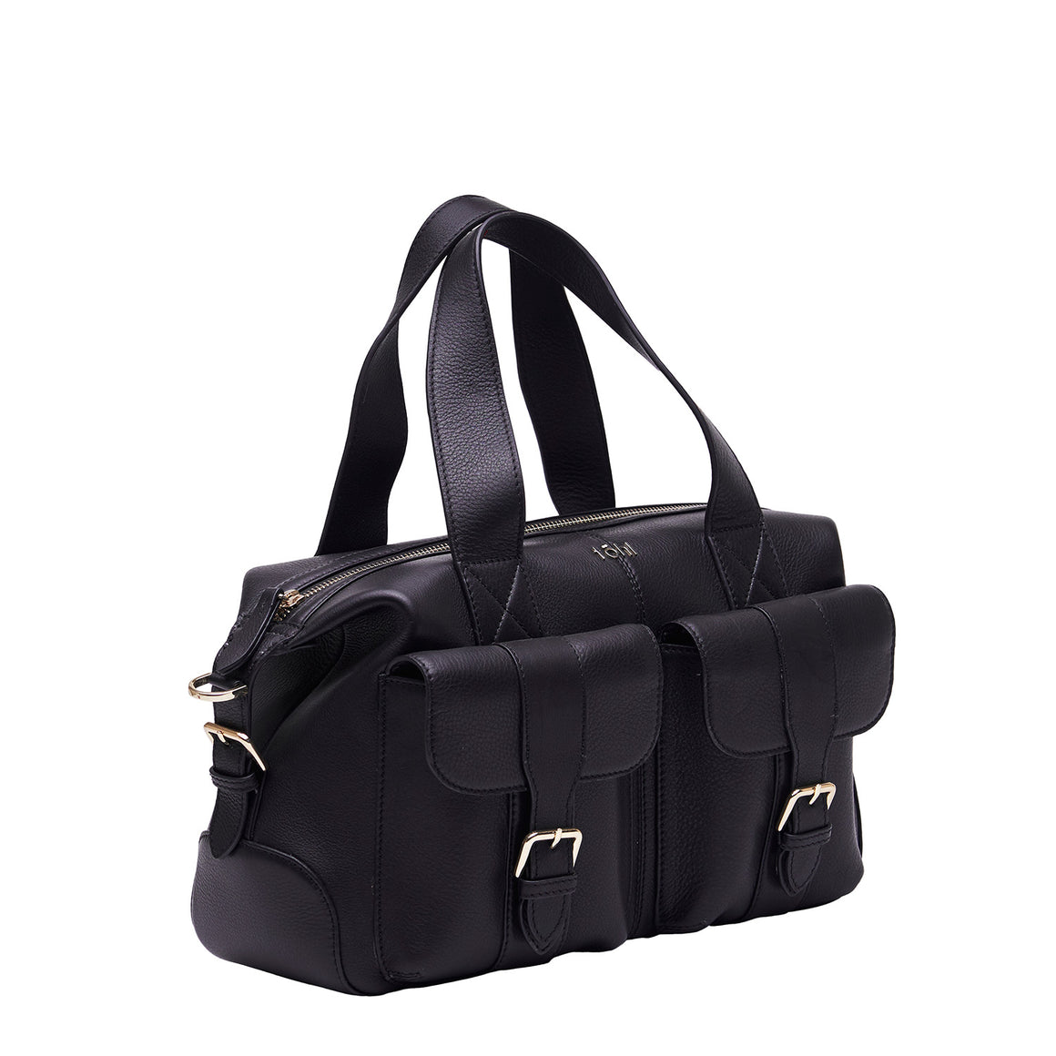HH 0018 - TOHL PEPYS WOMEN'S HAND BAG - CHARCOAL BLACK