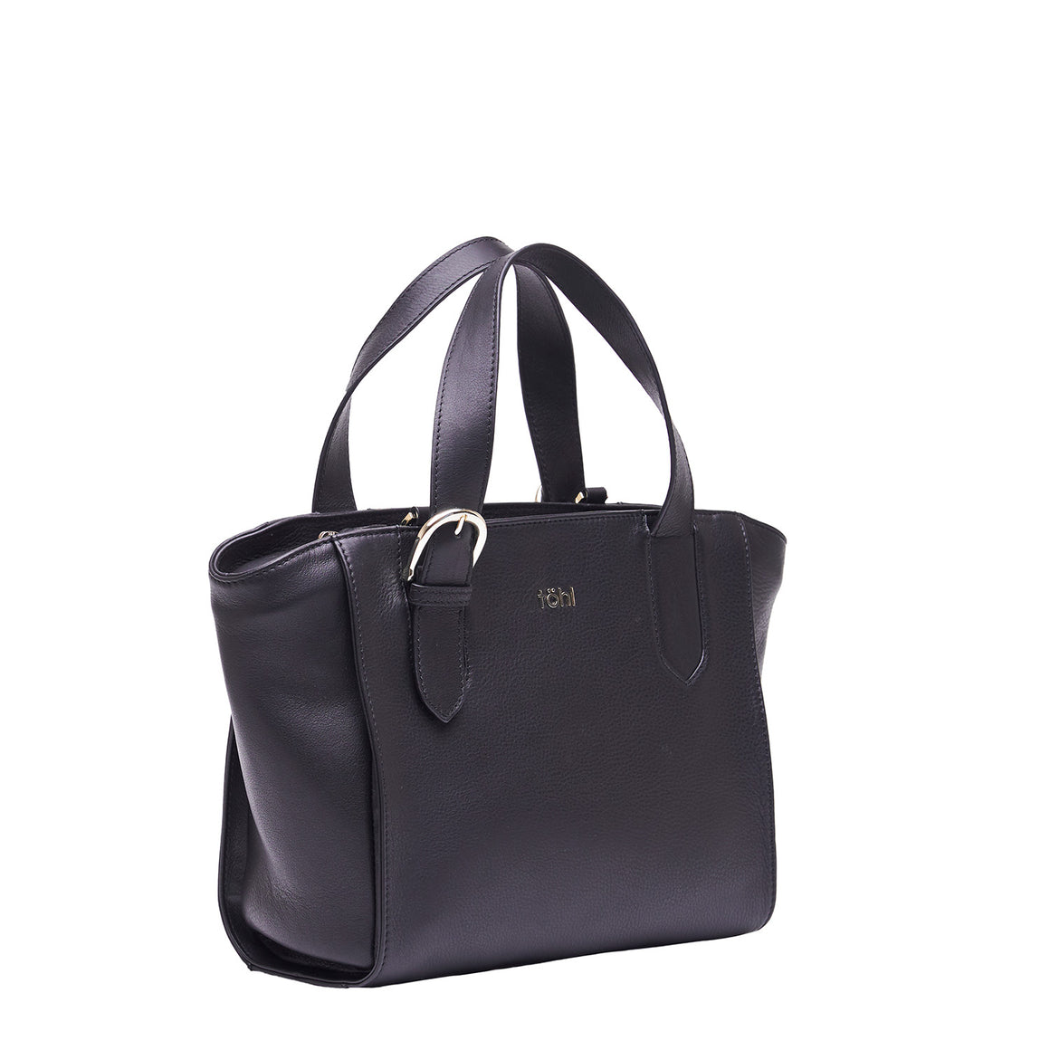 HH 0020 - TOHL LOMBARD WOMEN'S HAND BAG - CHARCOAL BLACK