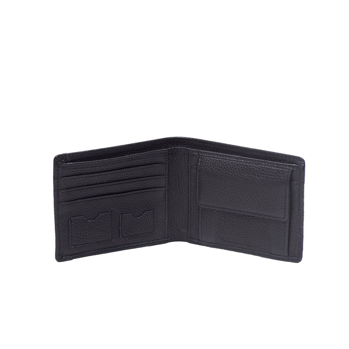 WT 0032 - TOHL BRESSO MEN'S WALLET - CHARCOAL BLACK