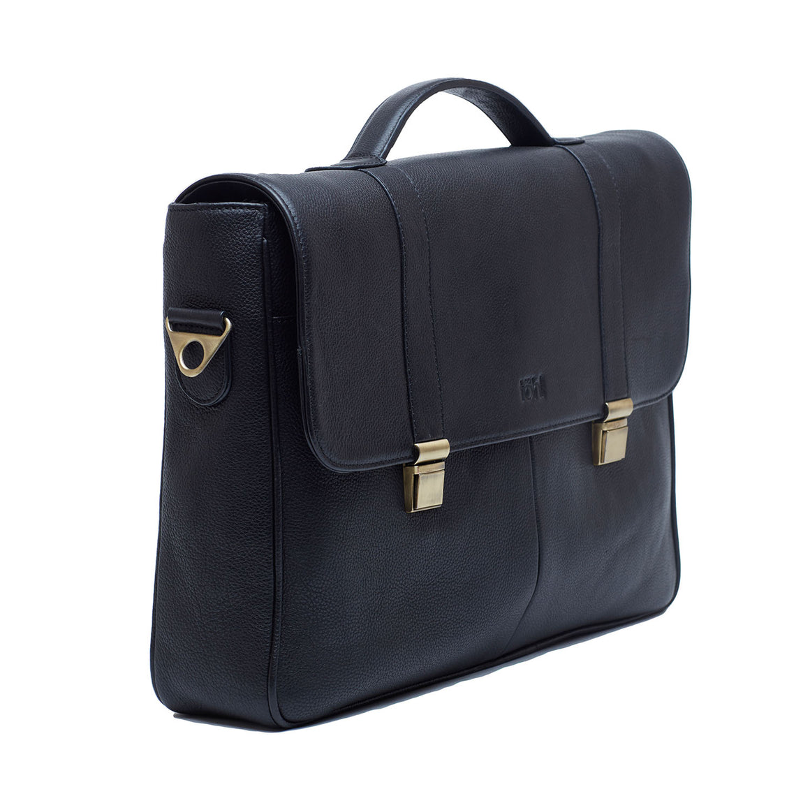 VS 0002 - TOHL CUNEO MEN'S VALISES & SATCHELS - CHARCOAL BLACK