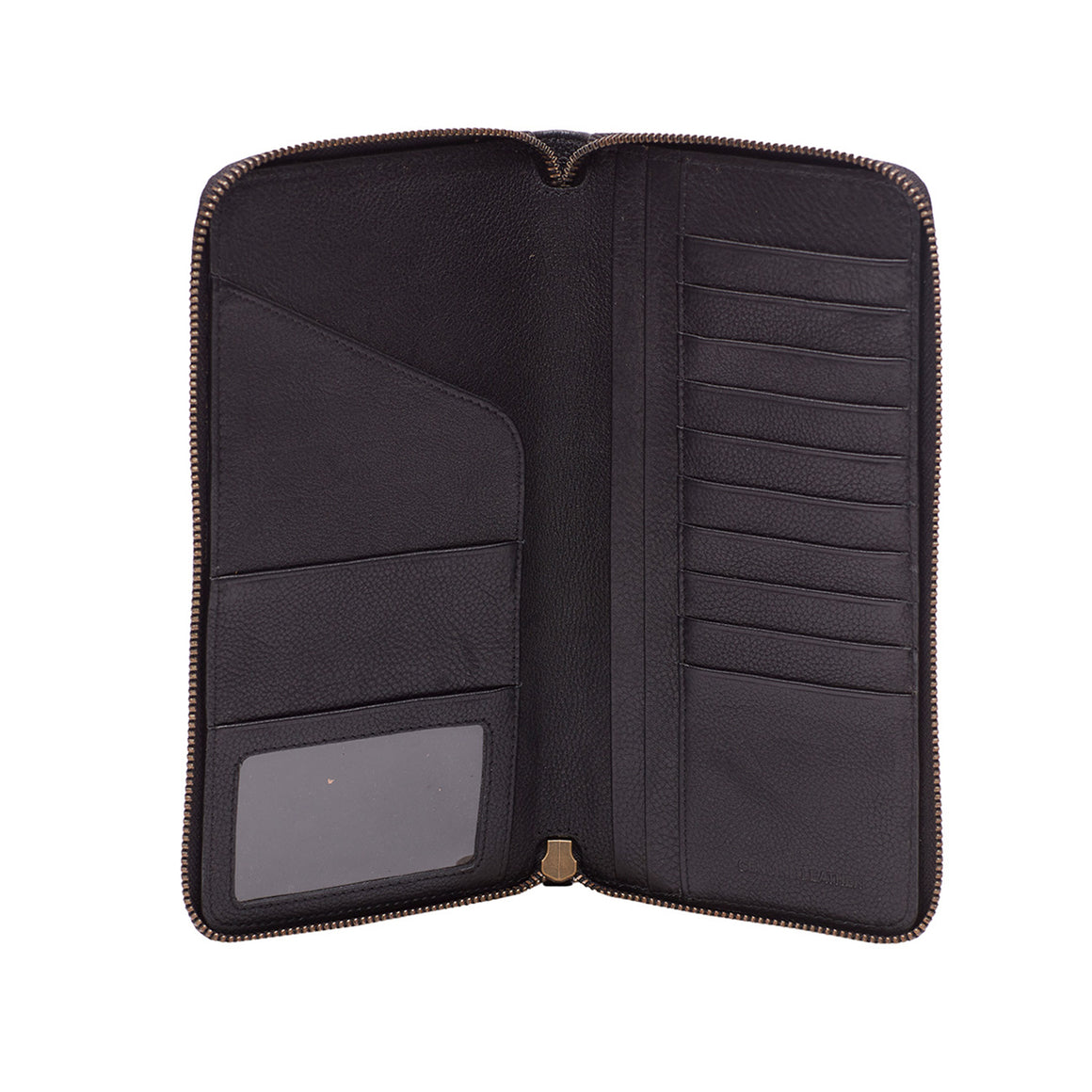 WT 0037 - TOHL DONATO MEN'S WALLET - CHARCOAL BLACK