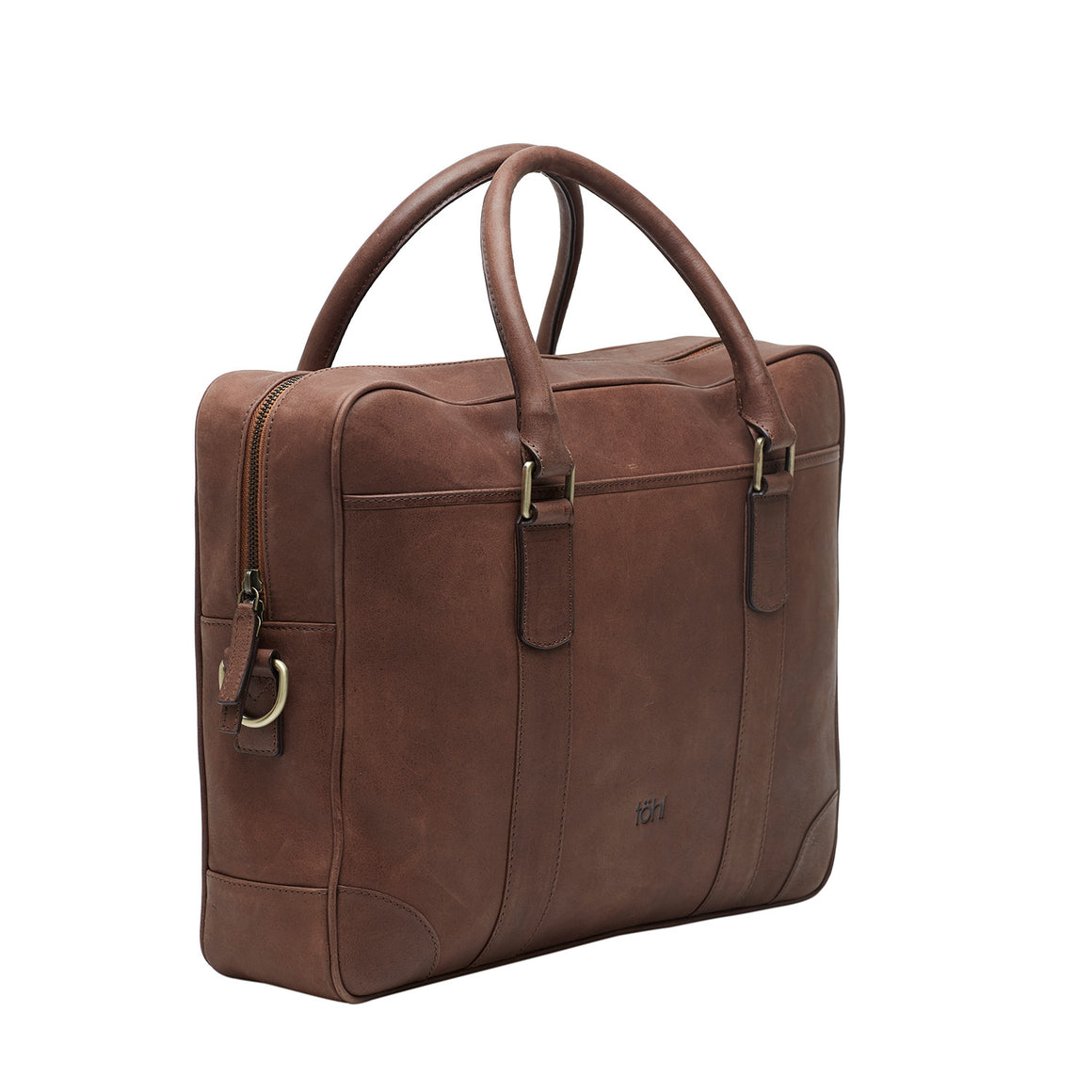 LB 0002 - TOHL ZANON MEN'S LAPTOP BAG - TAN